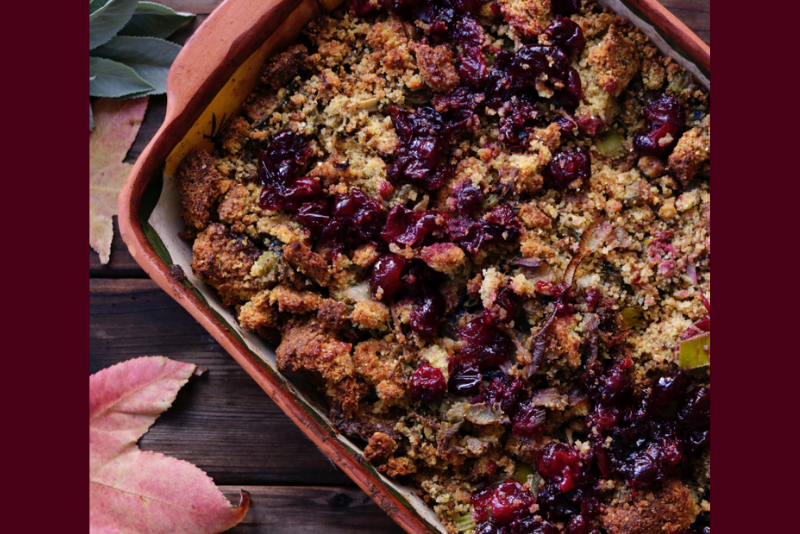 Thanksgiving Challah-Day Stuffing | Bonnie Taub-Dix
