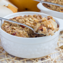 Crunchy Pear Cobbler with No Added Sugar | Bonnie Taub-Dix