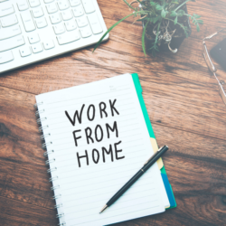 8 Hacks to Help You Work from Home | A round up of tips to help you work from home! Whether you're taking up remote work or are told to work from home for a few days by your employer, these tips will make the transition easier.
